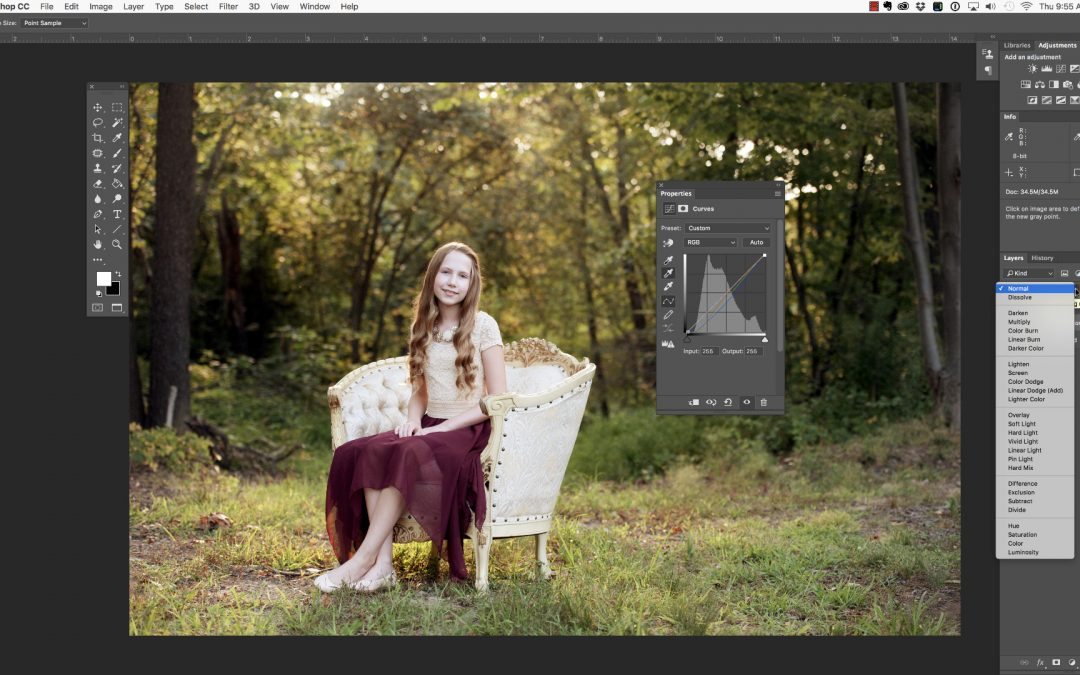 Using Curves in Photoshop – Part 2
