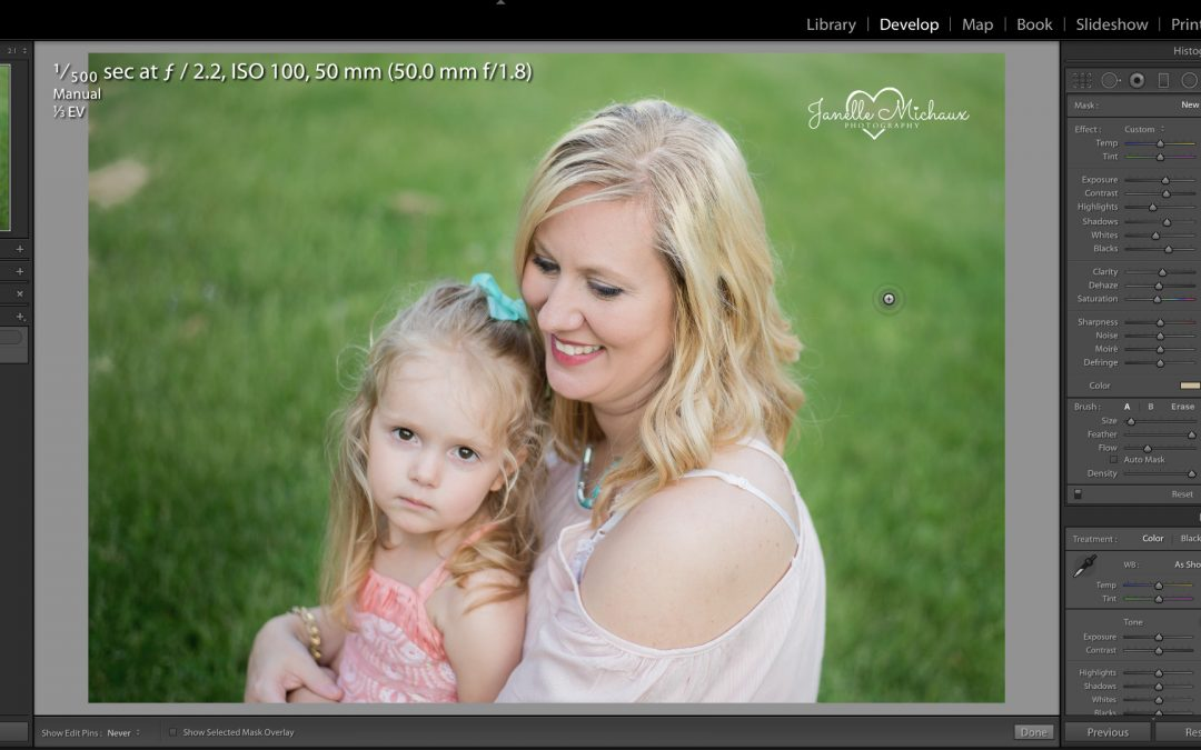 Fixing Hair Color in Lightroom