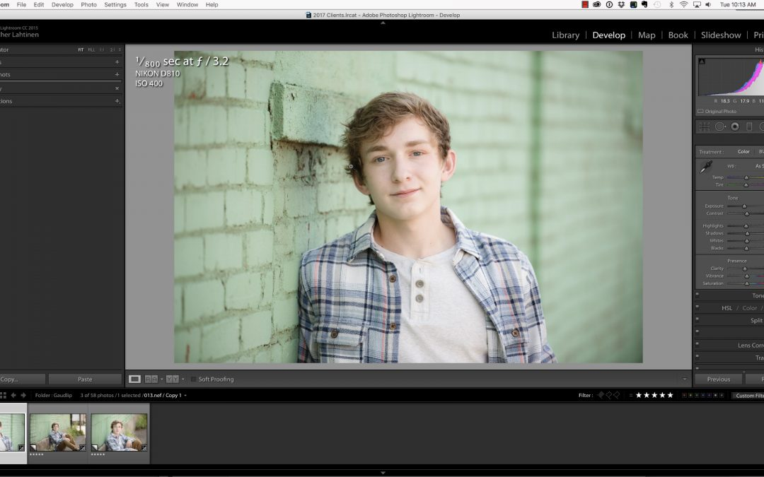 Fixing Skin Tone Color Cast in Lightroom