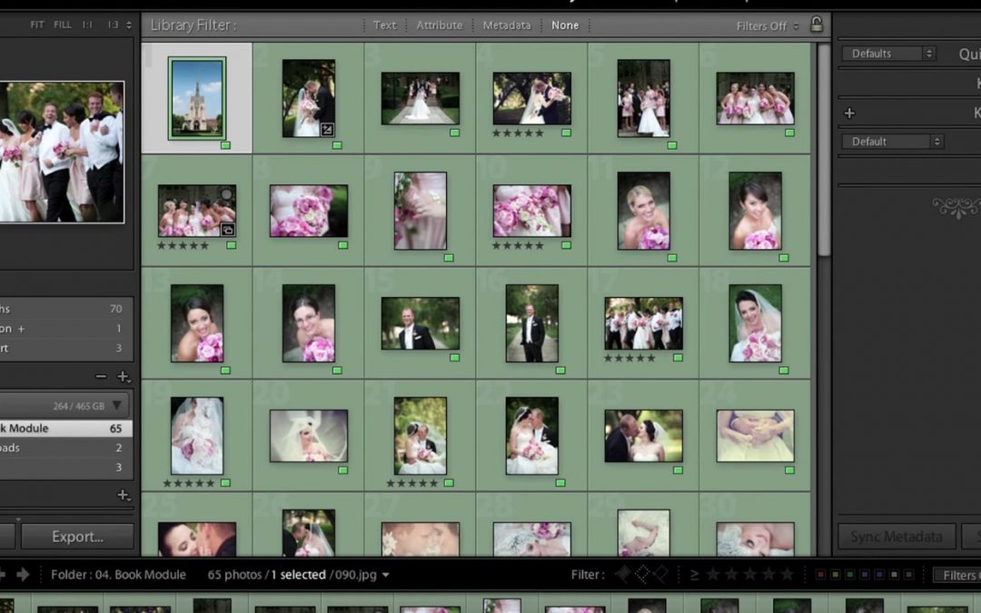 Creating a New Catalog in Lightroom