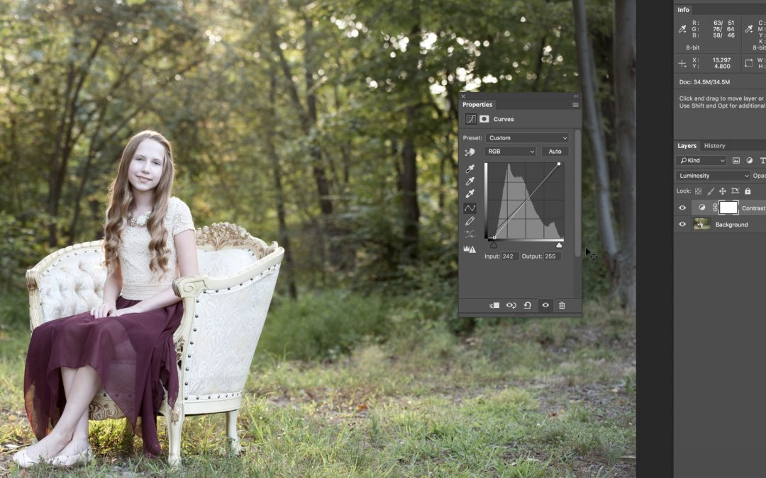 Using Curves in Photoshop – Part 1