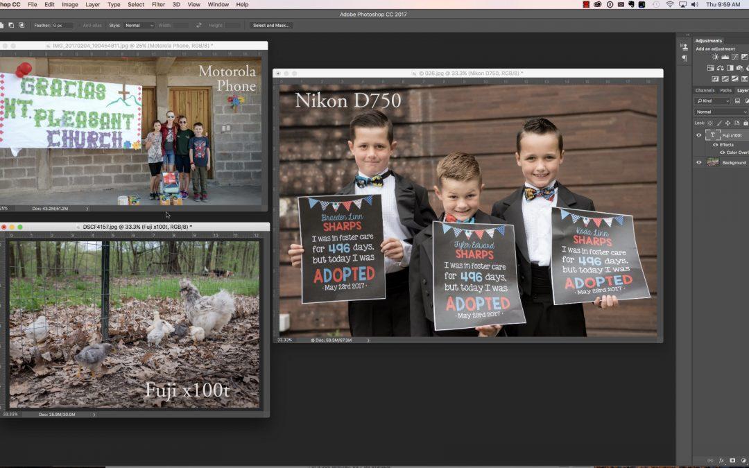 Upsampling in Photoshop