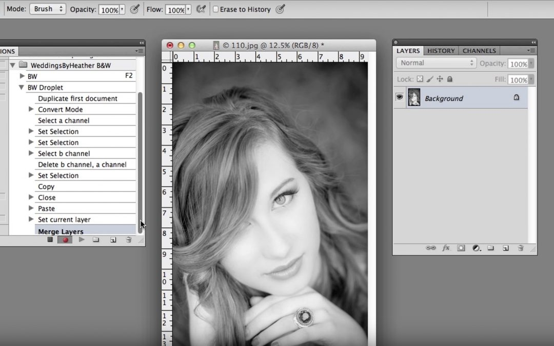 Creating a Droplet in Photoshop