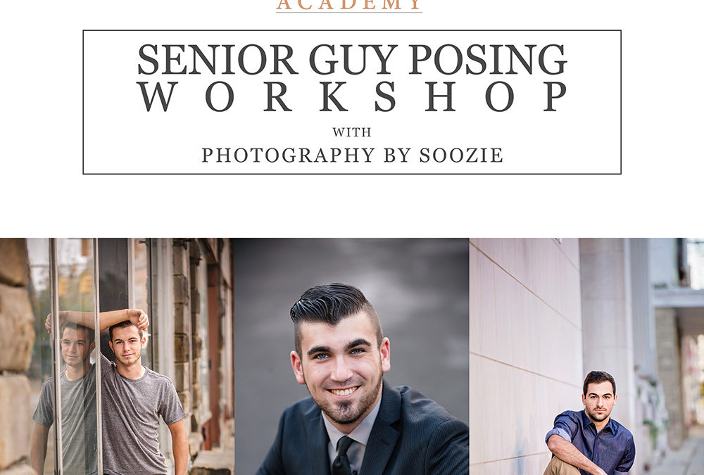 Senior Guy Posing Workshop