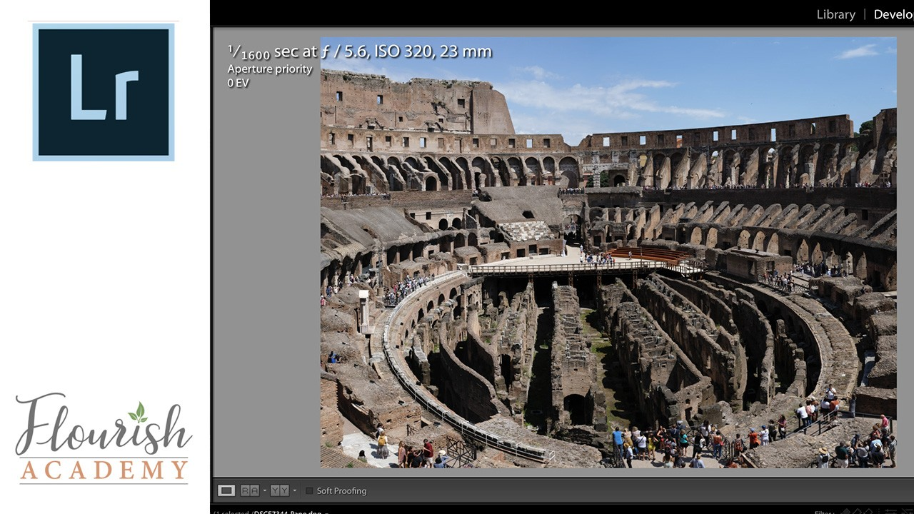 Create a Panorama in Lightroom