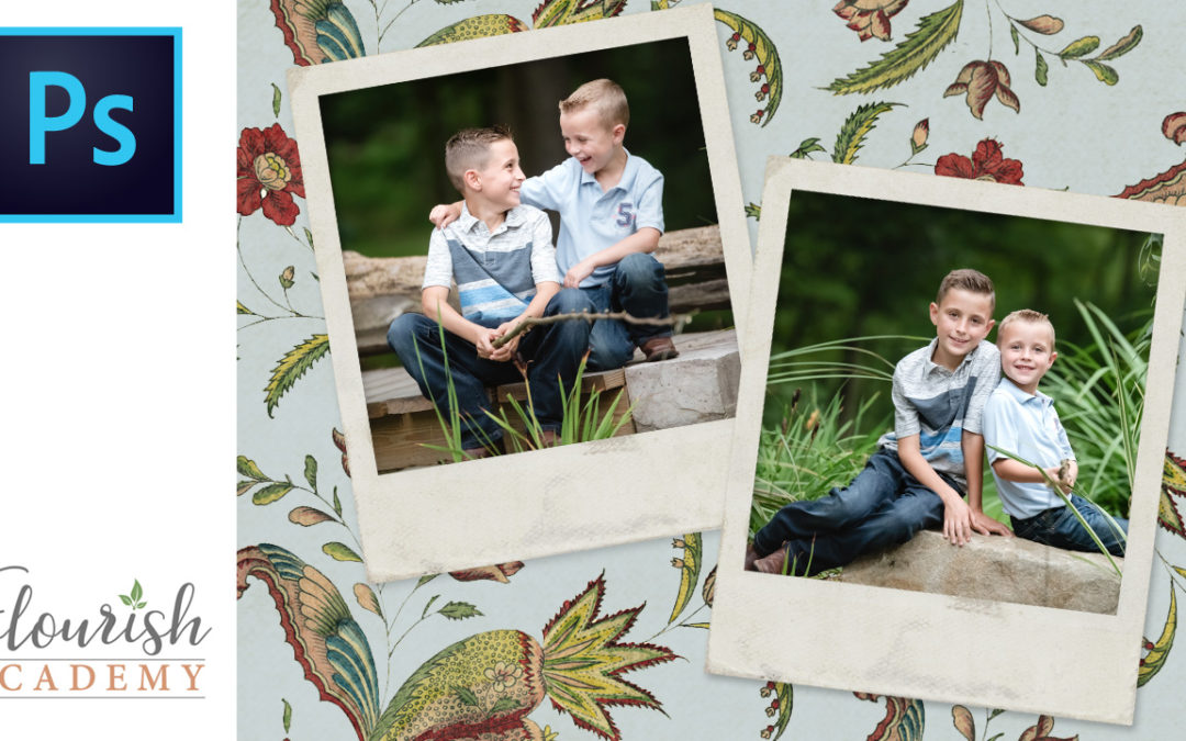 How to Add Photos to Card Templates in Photoshop