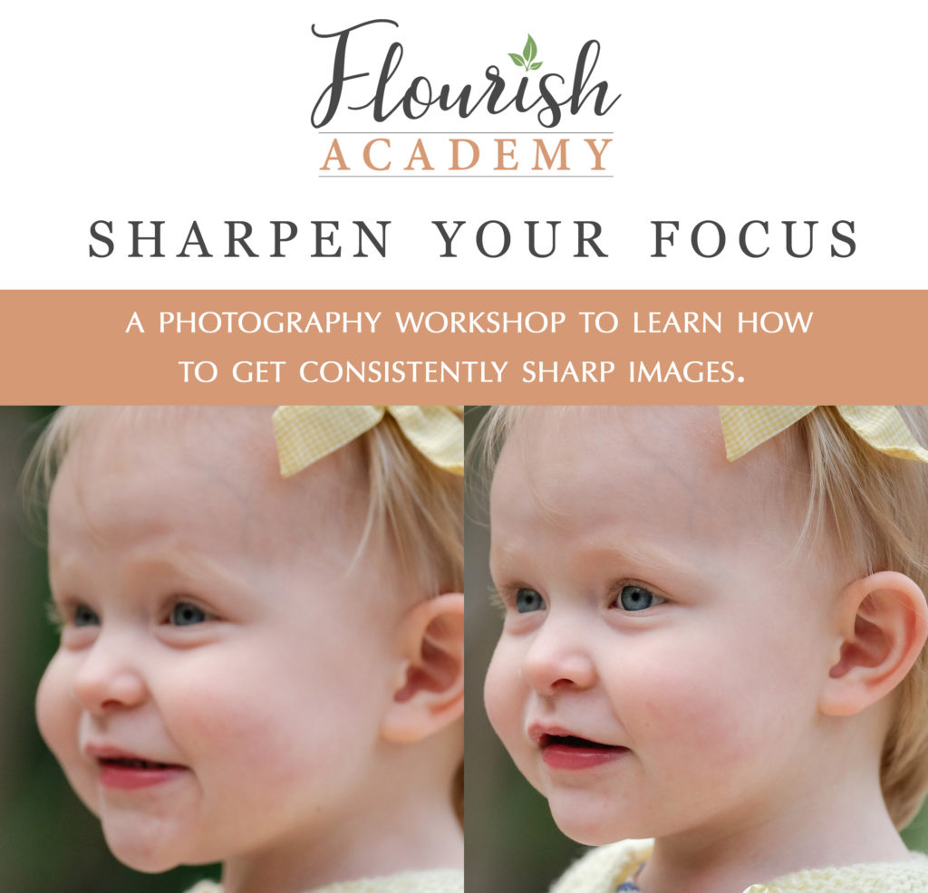 Sharpen Your Focus Workshop