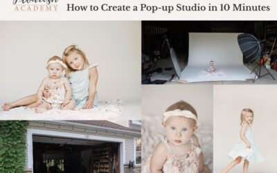 [WORKSHOP] How to Create a Pop-up Studio in 10 Minutes